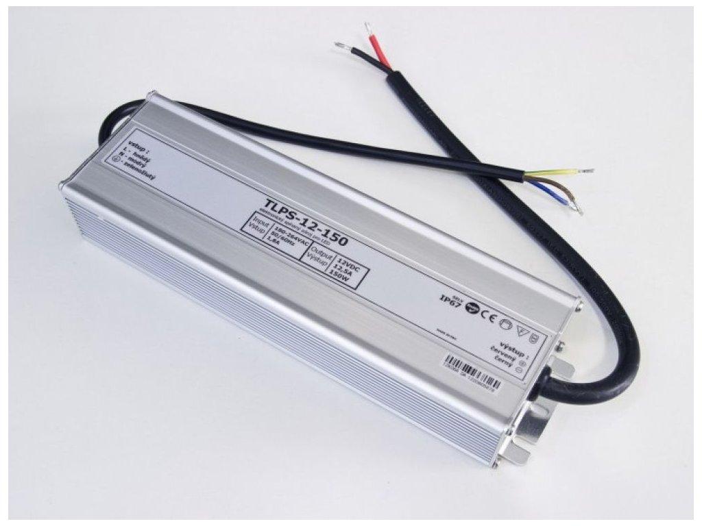 LED zdroj 12V 150W IP67 - LED zdroj 12V 150W IP67
