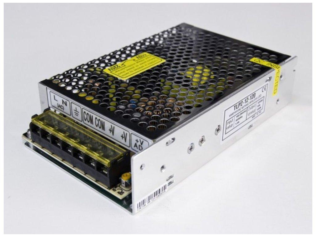 LED zdroj 12V 120W vnitřní - 12V 120W zdroj vnitřní TLPZ-12-120