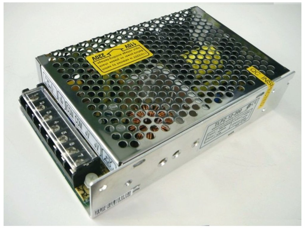 LED zdroj 12V 200W vnitřní - LED zdroj 12V 200W vnitřní