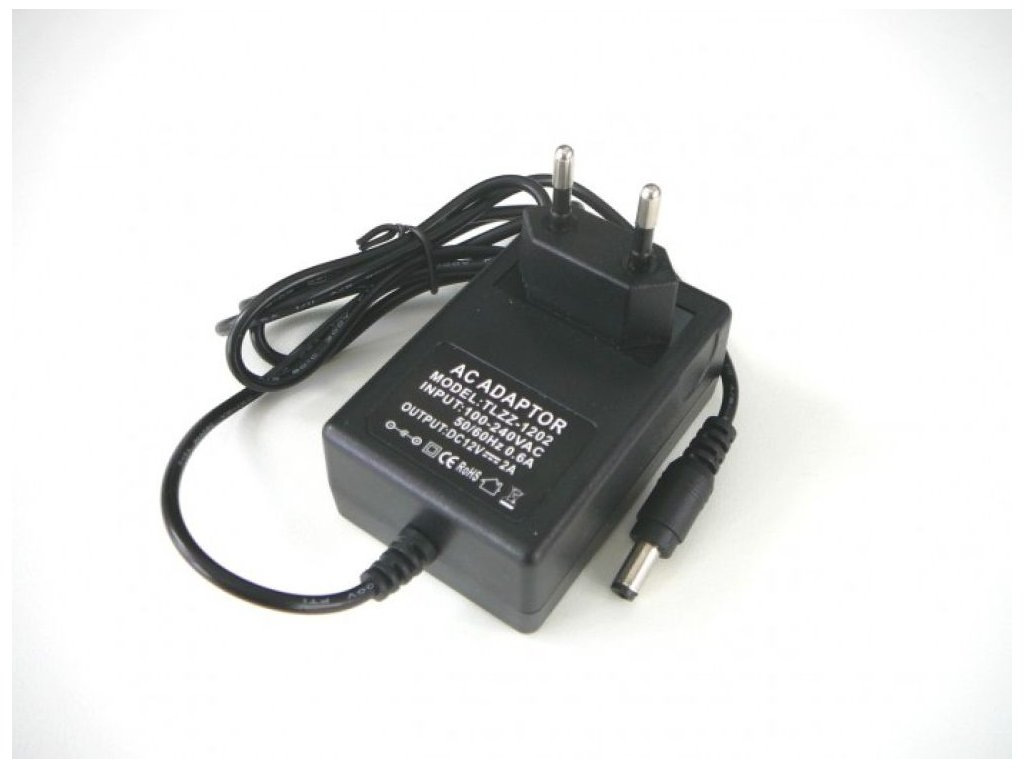 LED zdroj 12V 24W zásuvkový - LED zdroj 12V 24W zásuvkový