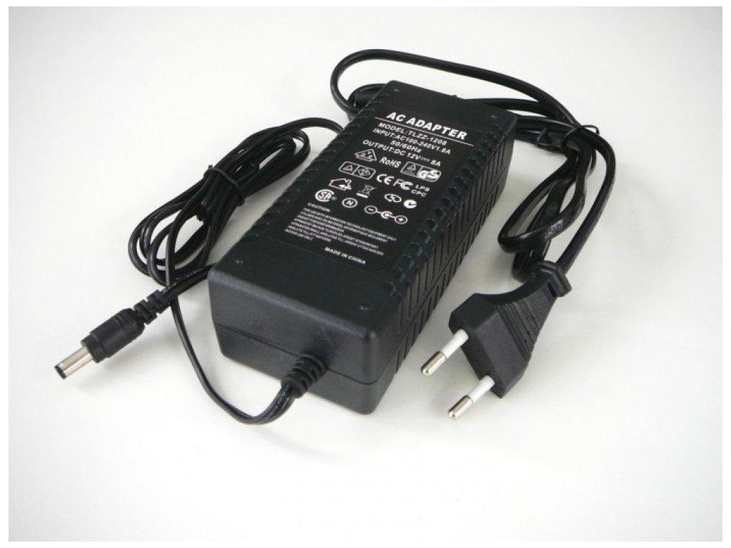 LED zdroj 12V 96W zásuvkový - LED zdroj 12V 96W zásuvkový
