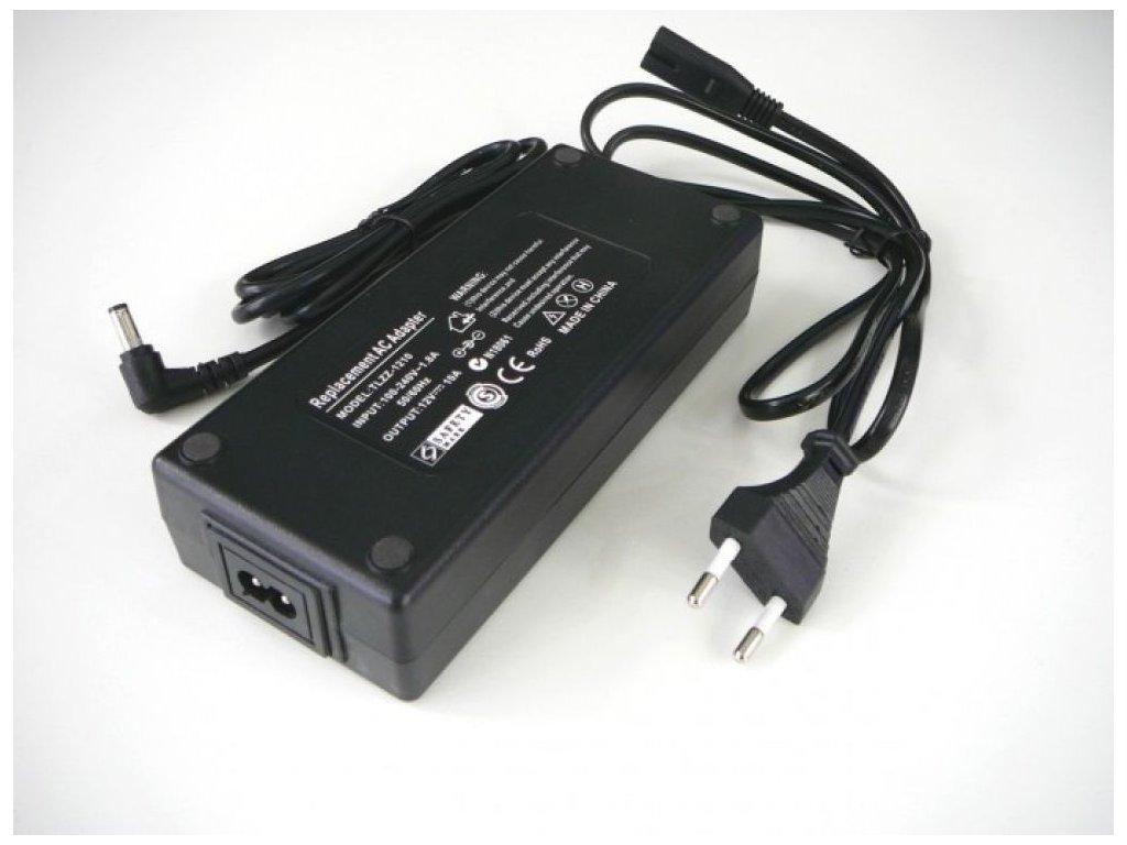 LED zdroj 12V 120W zásuvkový - TLZZ-12V-120W zdroj zásuvkový