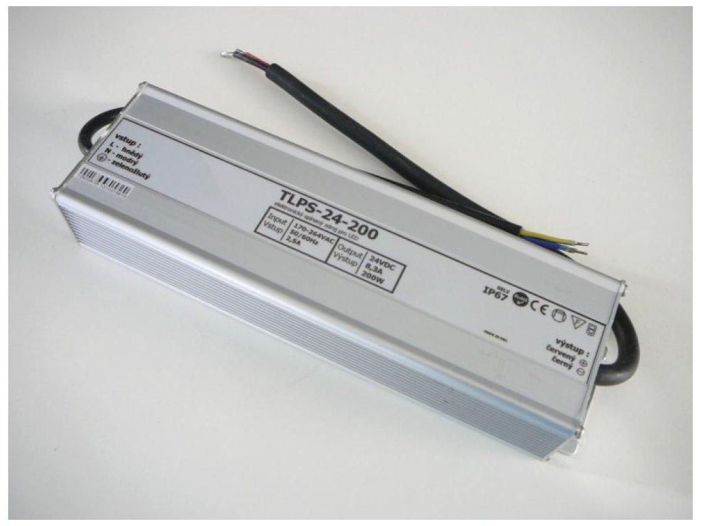 LED zdroj 24V 200W IP67 - LED zdroj 24V 200W IP67