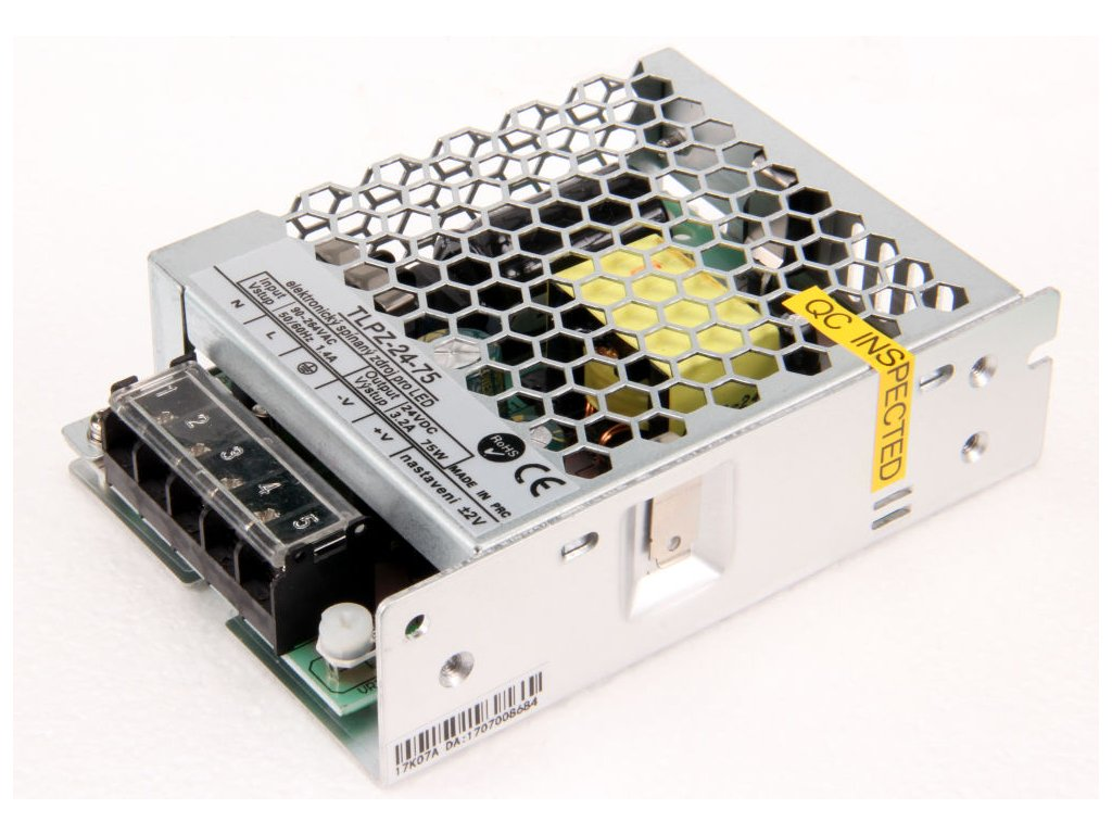 LED zdroj 24V 75W vnitřní - LED zdroj 24V 75W vnitřní