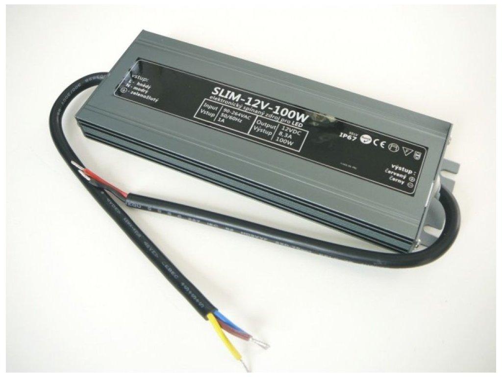 LED zdroj 12V 100W SLIM-12V-100W - LED zdroj 12V 100W SLIM-12V-100W