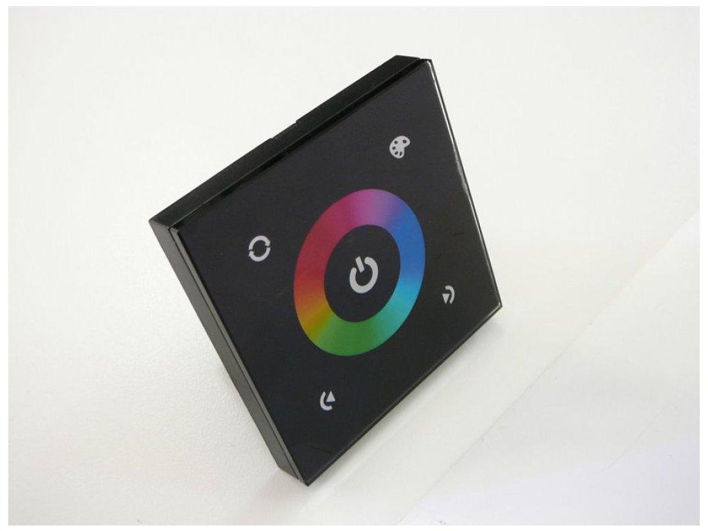 LED dotykový panel RGB 9E - Černá
