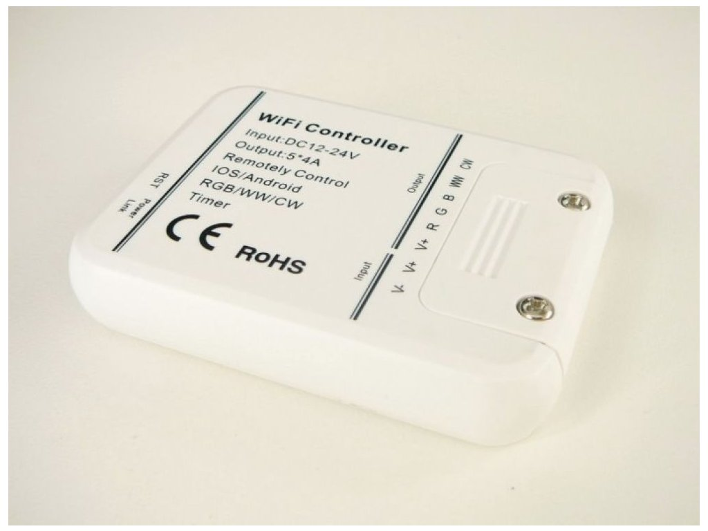 SMART WiFi LED ovladač RGB+WW+CW - WIFI-Smart RGB+WW+CW ovladač