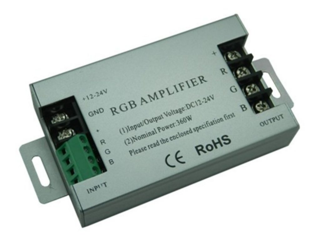 Zesilovač RGB signálu AMP5 - AMP5 - zesilovač 3x10A