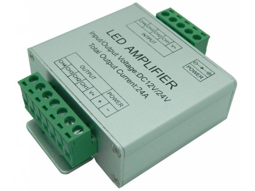 Zesilovač RGBW signálu AMP6 - Zesilovač RGBW signálu AMP6