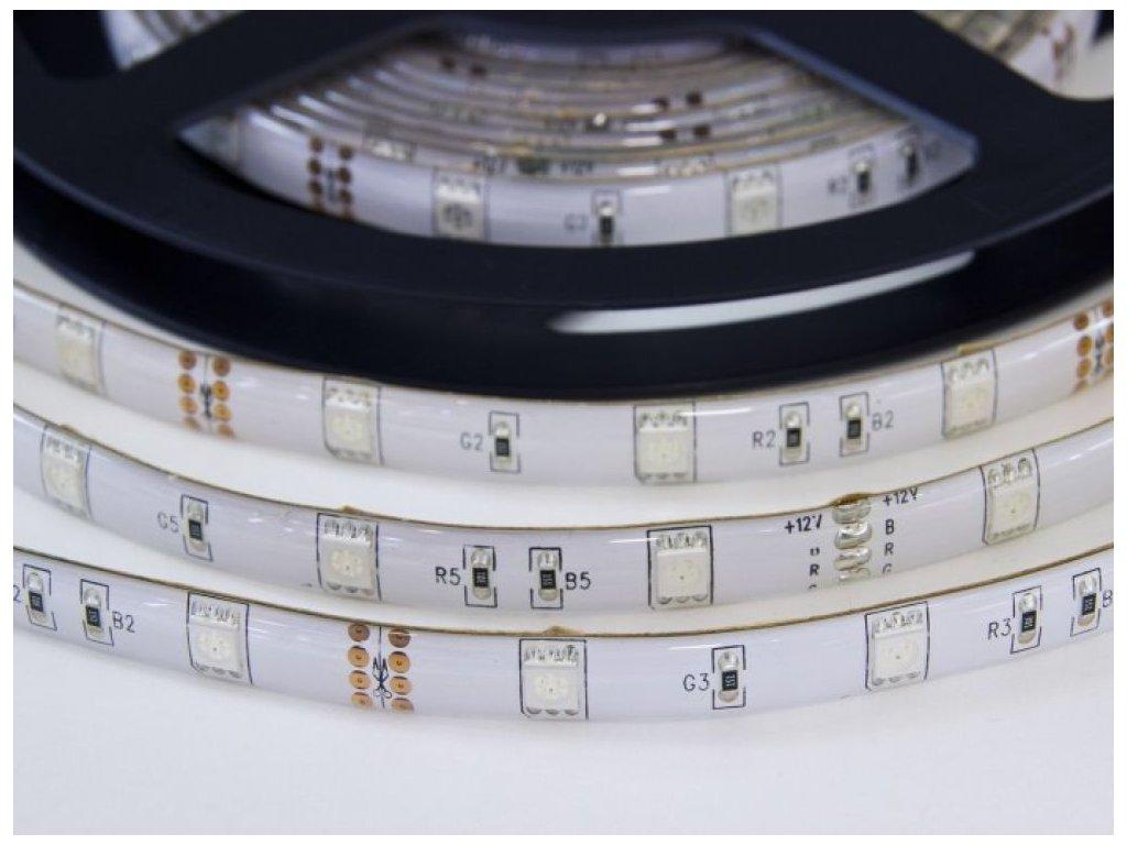 RGB LED pásek W150SMD zalitý - RGB
