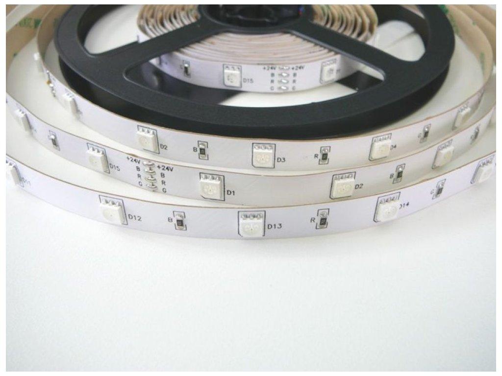 RGB LED pásek 24V-150 záruka 3 roky - RGB LED pásek 24V-150 záruka 3 roky