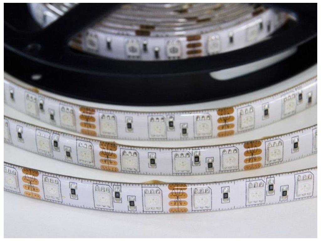 RGB LED pásek W300SMD zalitý - RGB LED pásek W300SMD zalitý