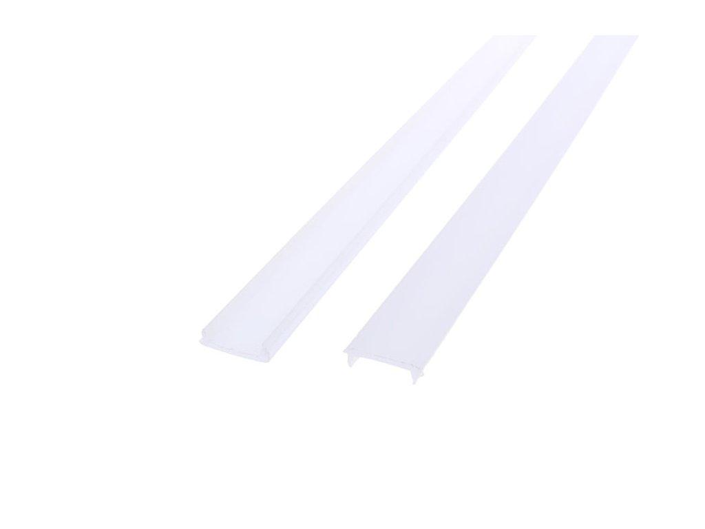 Difuzor ALU profilu D2 mini nacvakávací - Nacvakávací opál 1m