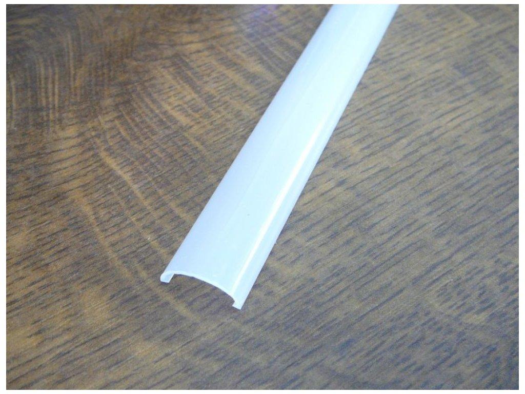 Difuzor ALU profilu TUBE - Nacvakávací opál 2m