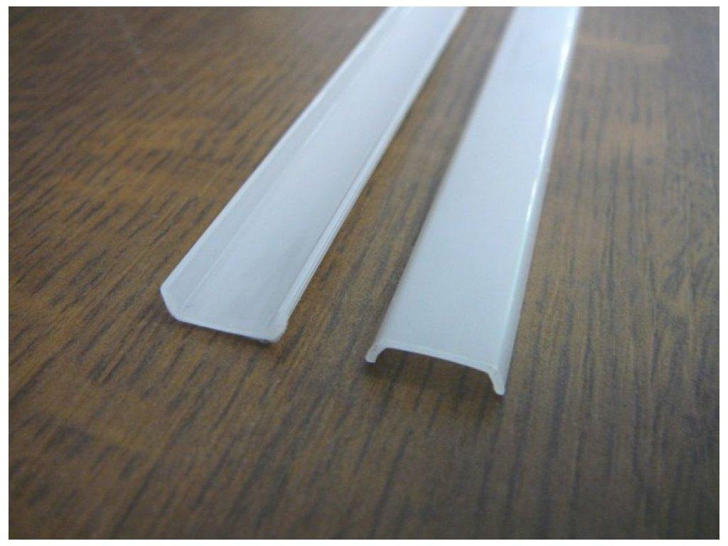 Difuzor ALU profilu D3 násuvný - Násuvný opál 1m