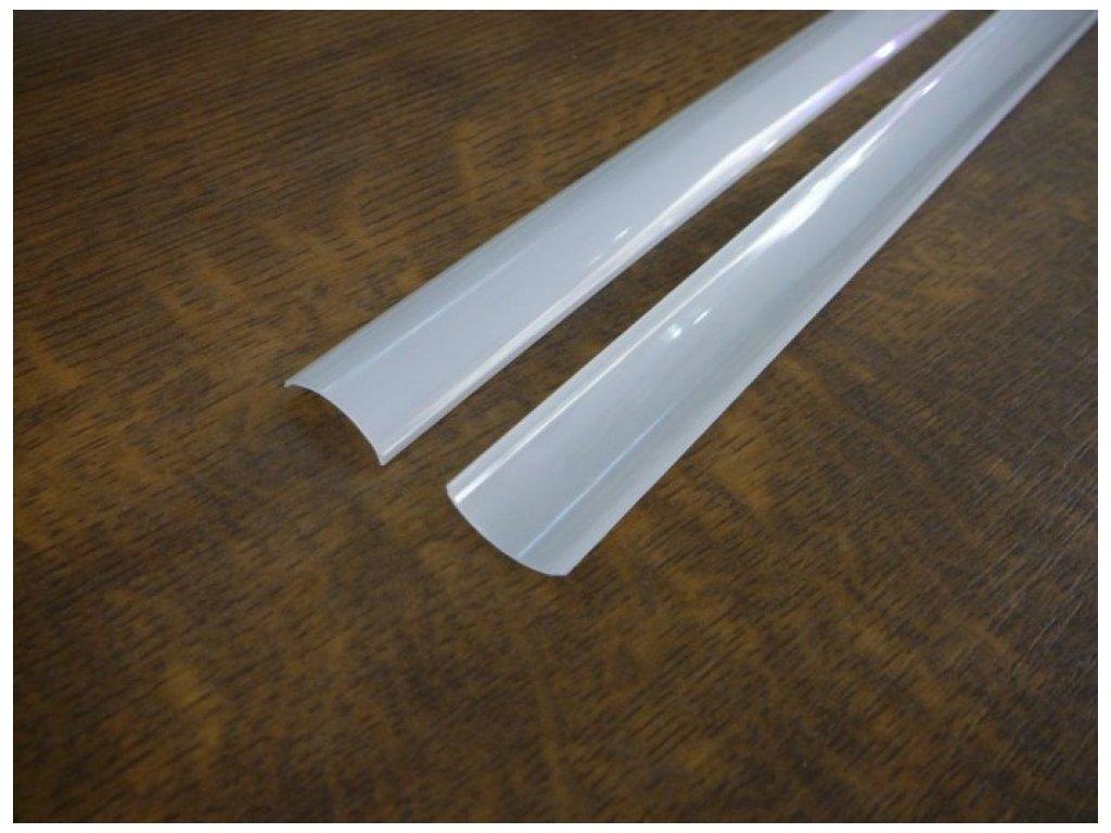 Difuzor pro ALU profil R5 - Kryt kulatý opál 1m