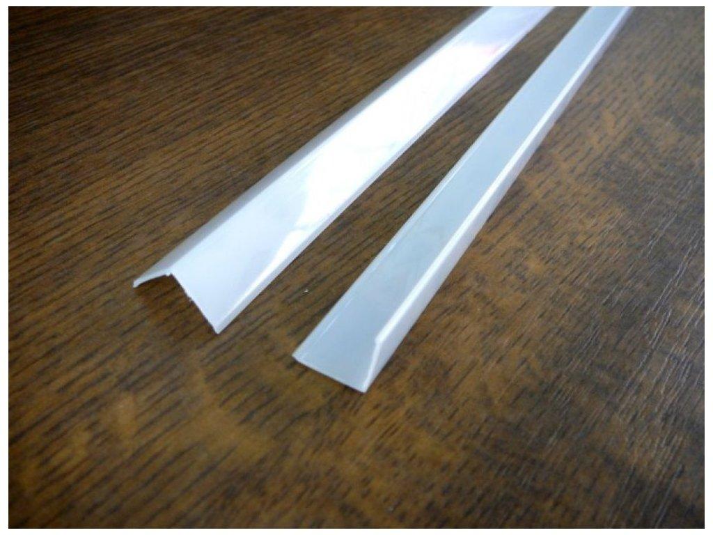 Difuzor pro ALU profil R5 - Kryt hranatý opál 1m