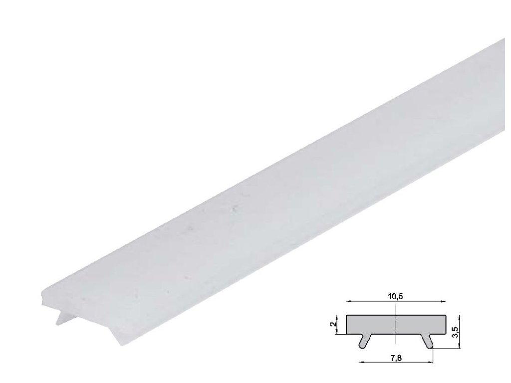 Difuzor pro ALU profil ST schodišťový - Nacvakávací opál 2m
