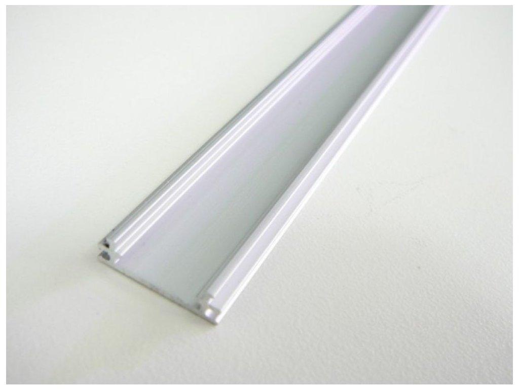 LED profil TUBE nástěnný - Profil bez krytu 1m