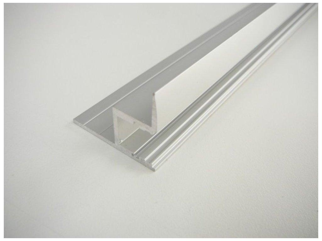 LED profil S - Profil bez krytu 1m