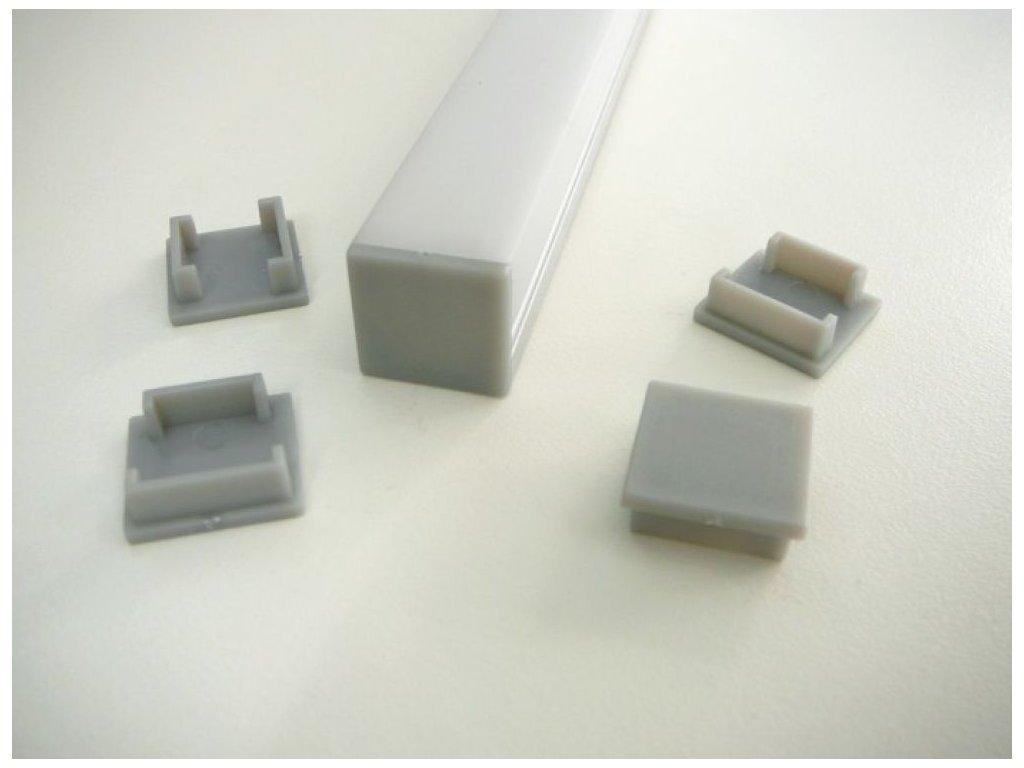 Koncovka LED profilu N8H - Koncovka LED profilu N8H