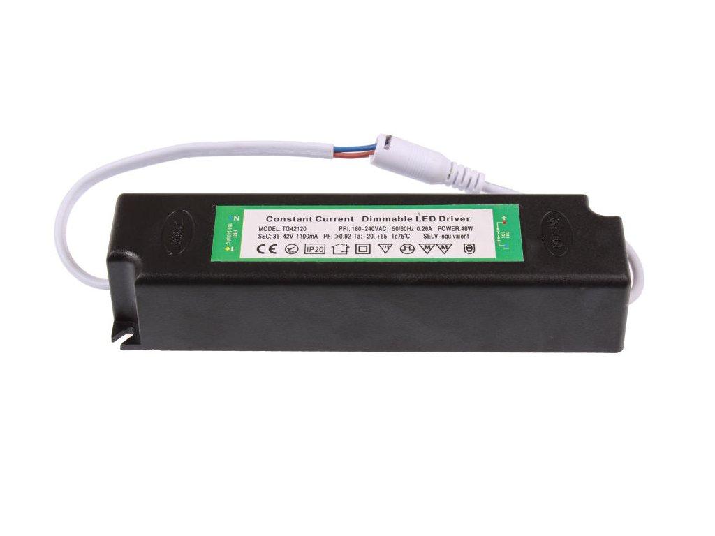 Stmívatelný zdroj pro panel E30120, P30120 a ANGA - Stmívatelný zdroj pro panel E30120 a S6060