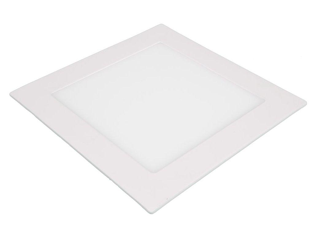 SN12 LED panel 12W čtverec 171x171mm - Studená bílá