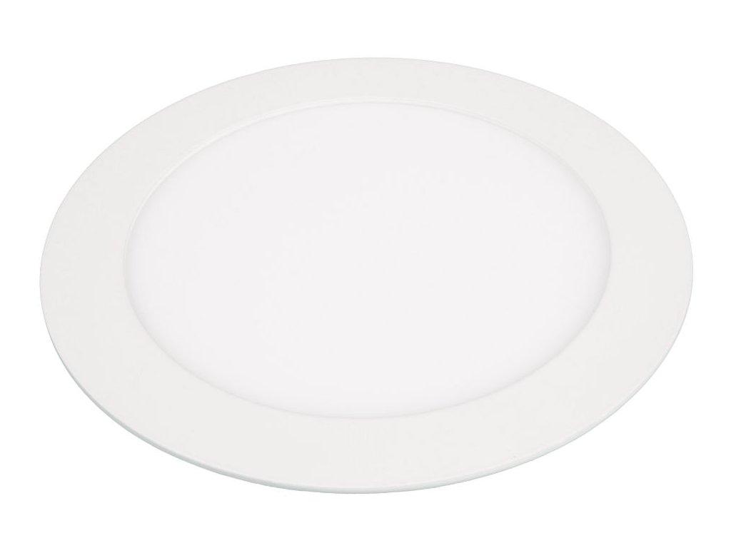 LN12 LED panel 12W kulatý 171mm - Teplá bílá