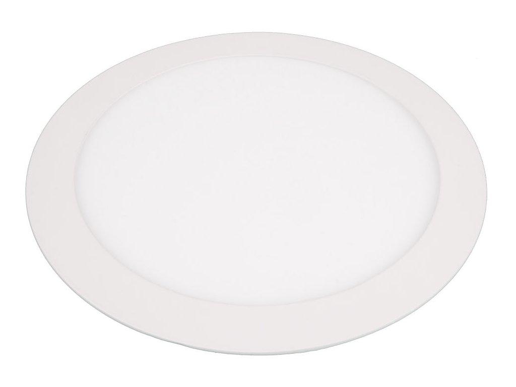 LN18 LED panel 18W kulatý 225mm - Teplá bílá