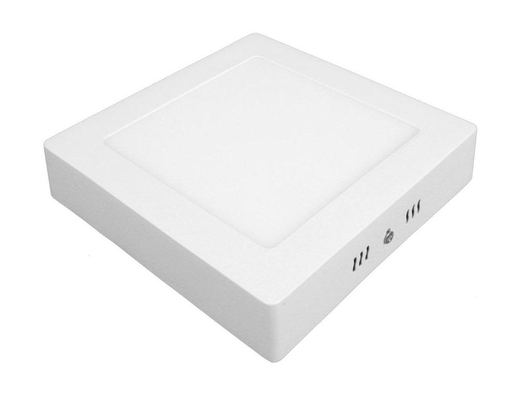 PS12 LED panel 12W přisazený čtverec 166x166mm - Denní bílá