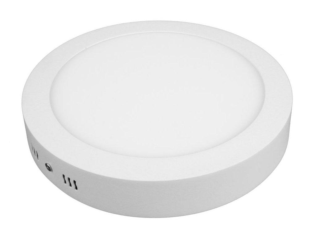 PL18 LED panel 18W přisazený kulatý 220mm - Teplá bílá