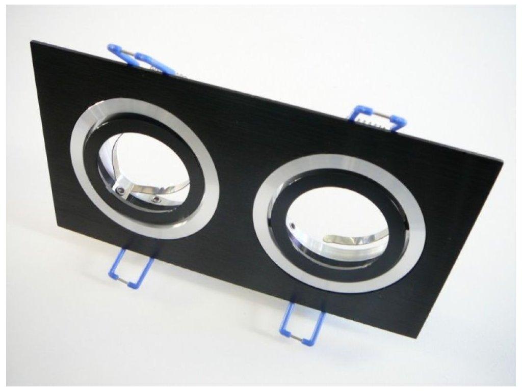 Podhledový rámeček D10-2B černý - Podhledový rámeček D10-2B černý
