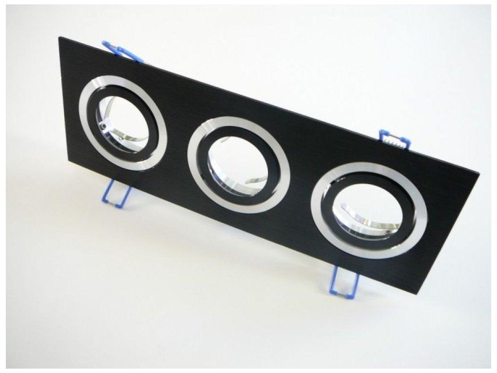 Podhledový rámeček D10-3B černý - Podhledový rámeček D10-3B černý