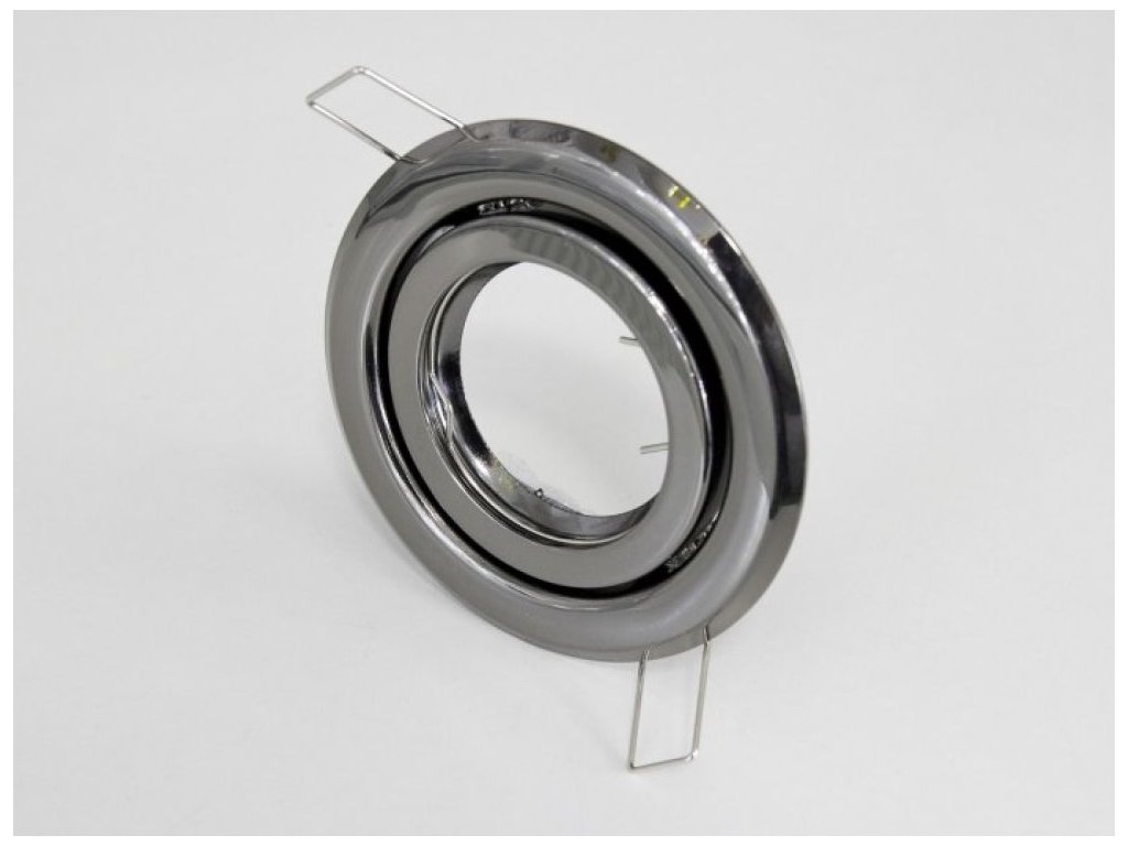 Podhledový rámeček R55-GM černý chrom - Podhledový rámeček R55-GM černý chrom
