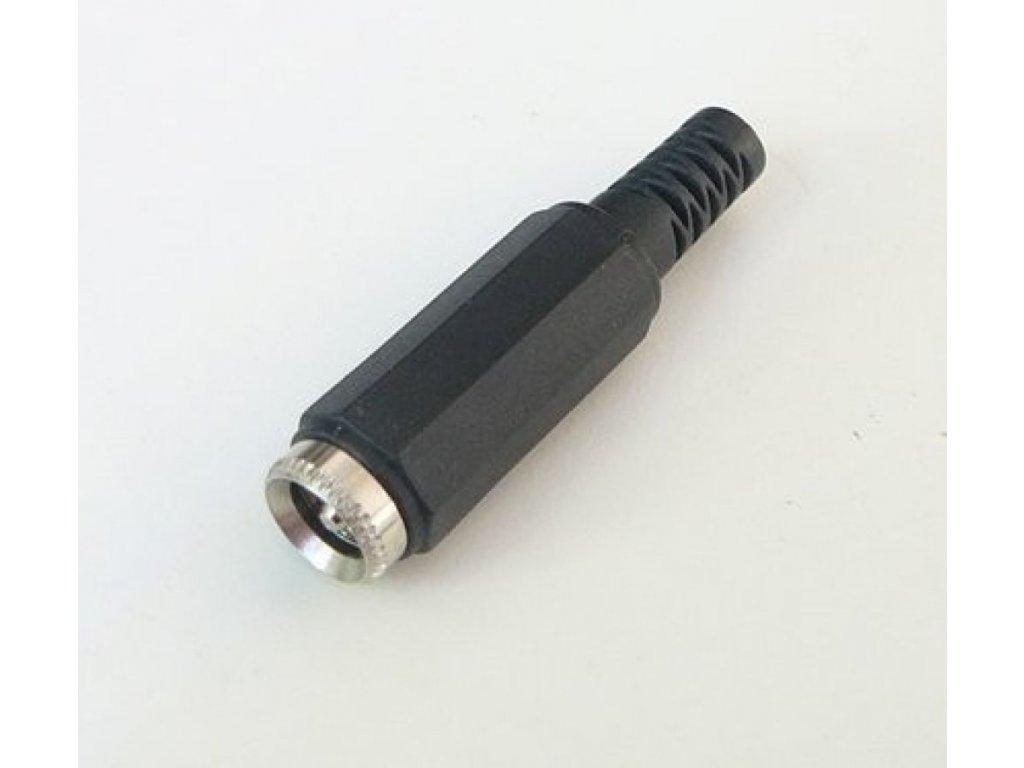 DC konektor napájecí kabelový (samice) - DC konektor napájecí kabelový (samice)