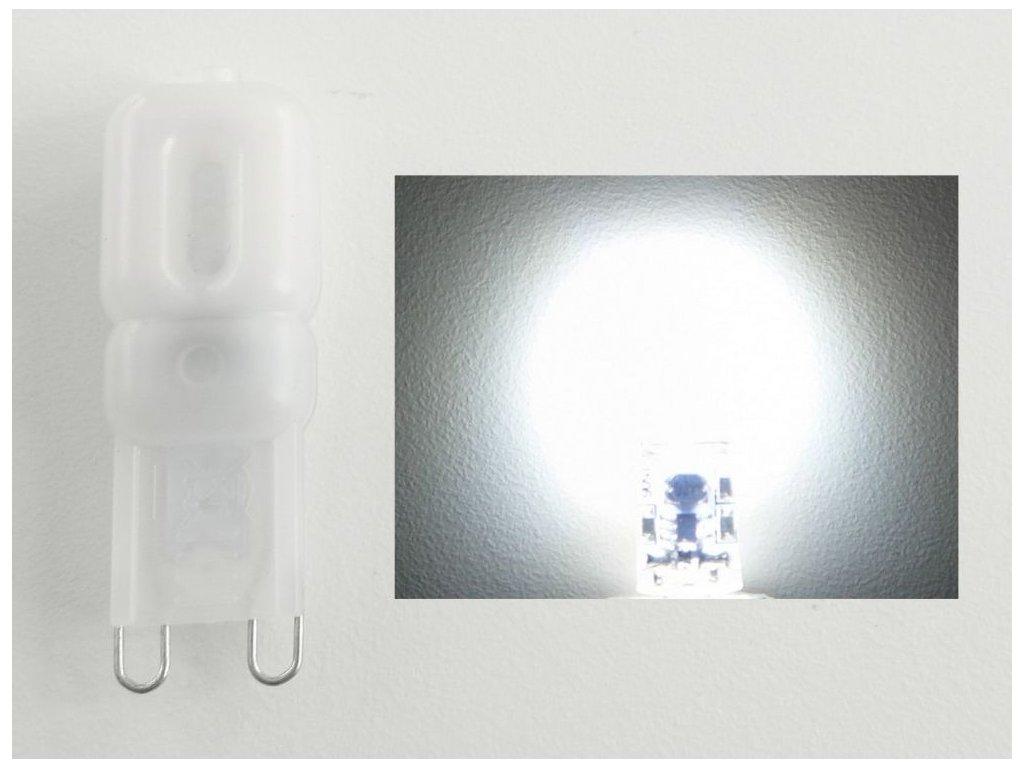 LED žárovka G9 EP2,5W - Studená bílá
