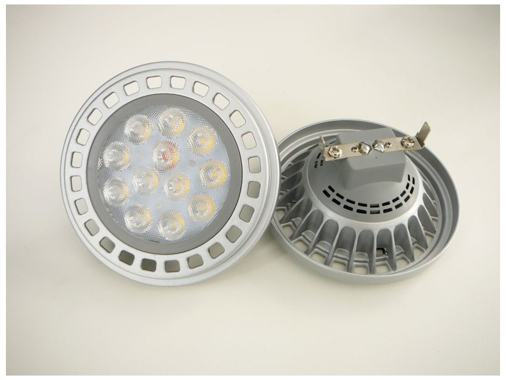 LED žárovka G53 AR111 X45/100 15W - Teplá bílá