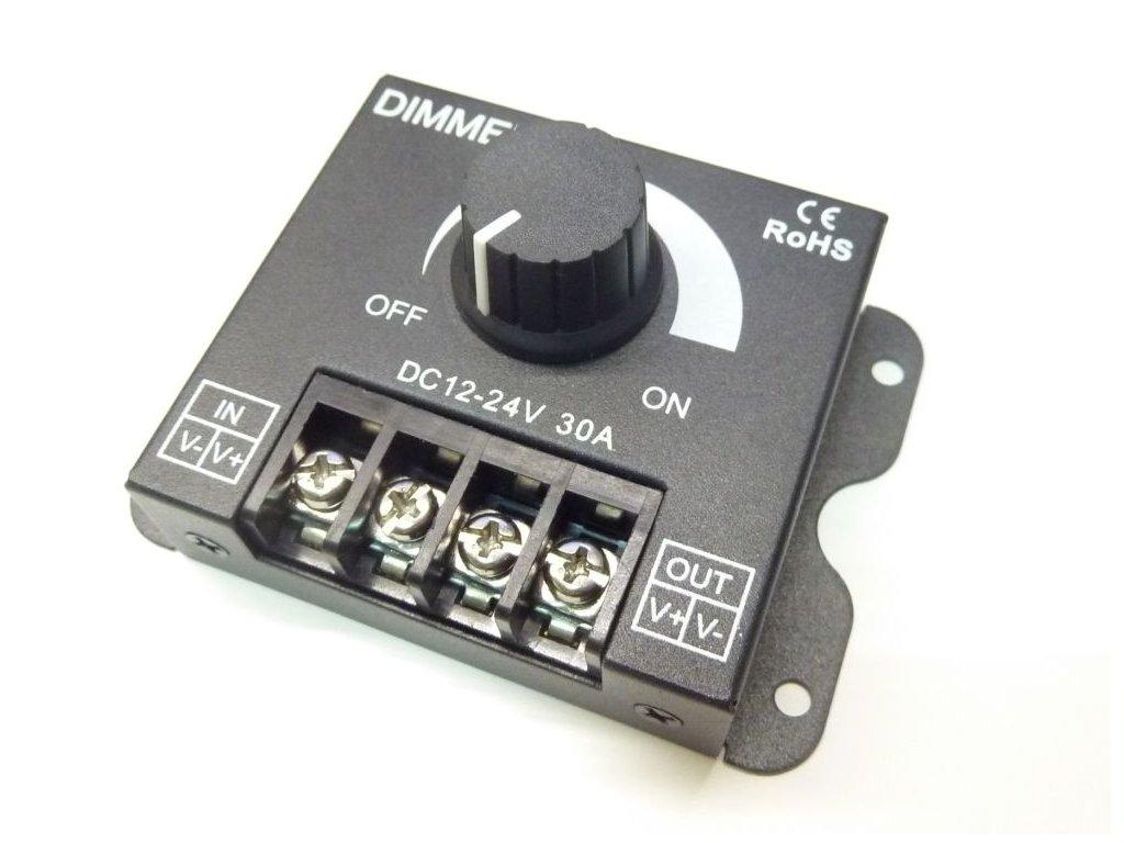 LED ovladač stmívač M6 30A - LED ovladač stmívač M6 30A