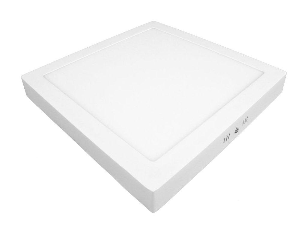 PS24 LED panel 24W přisazený čtverec 300x300mm - Studená bílá