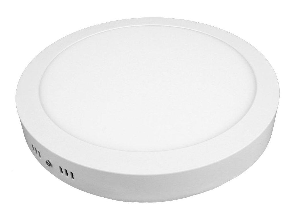 PL24 LED panel 24W přisazený kulatý 300mm - Studená bílá