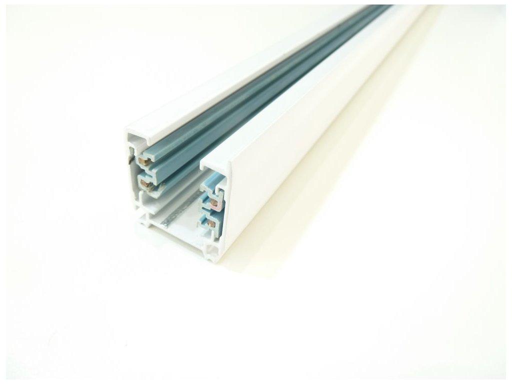 Třífázová lišta 3F pro třífázová svítidla - 100cm bílá lišta