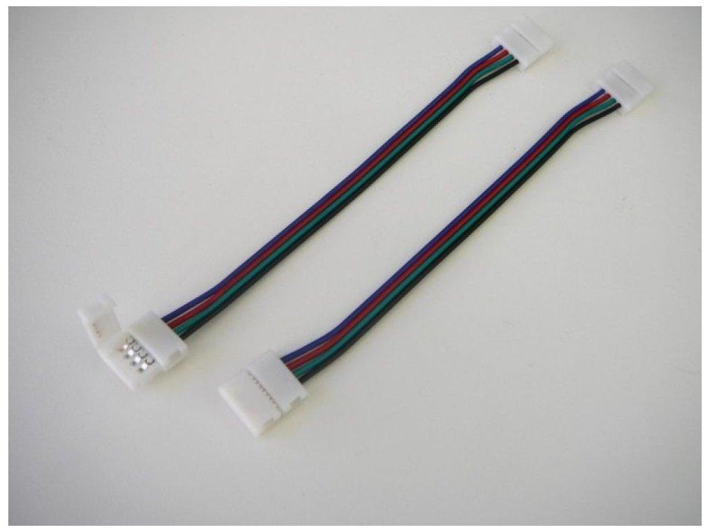 RGB spojka click 10mm s kabelem - RGB spojka click 10mm s kabelem