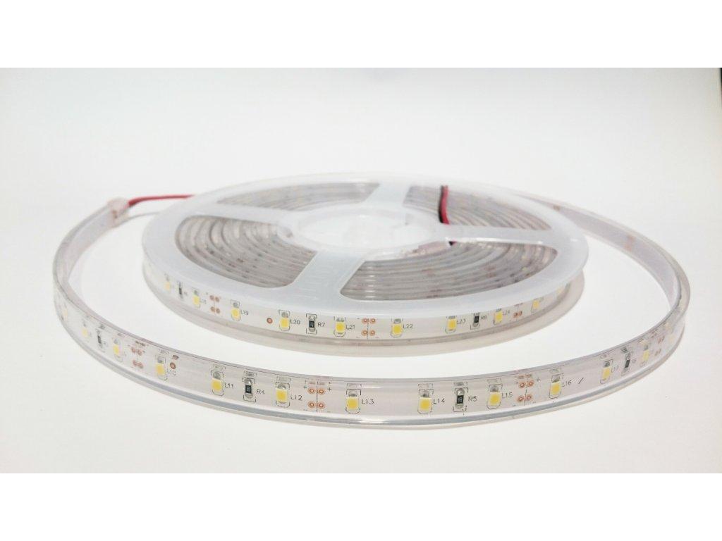 LED pásek 2835 60led/m 3000K IP68 Záruka tři roky SIKOV
