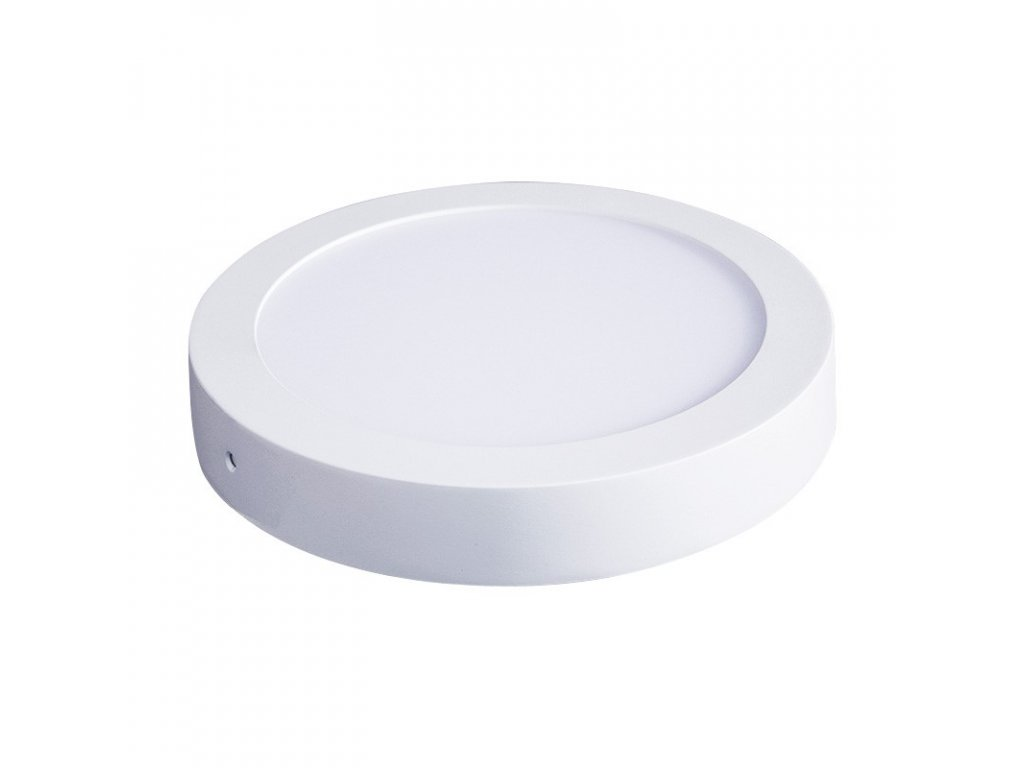 Solight LED panel přisazený, 18W, 1530lm, 4000K, kulatý, bílý