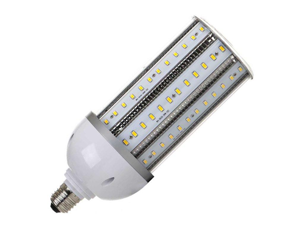 LED žárovka E27 CORN 38W teplá bílá