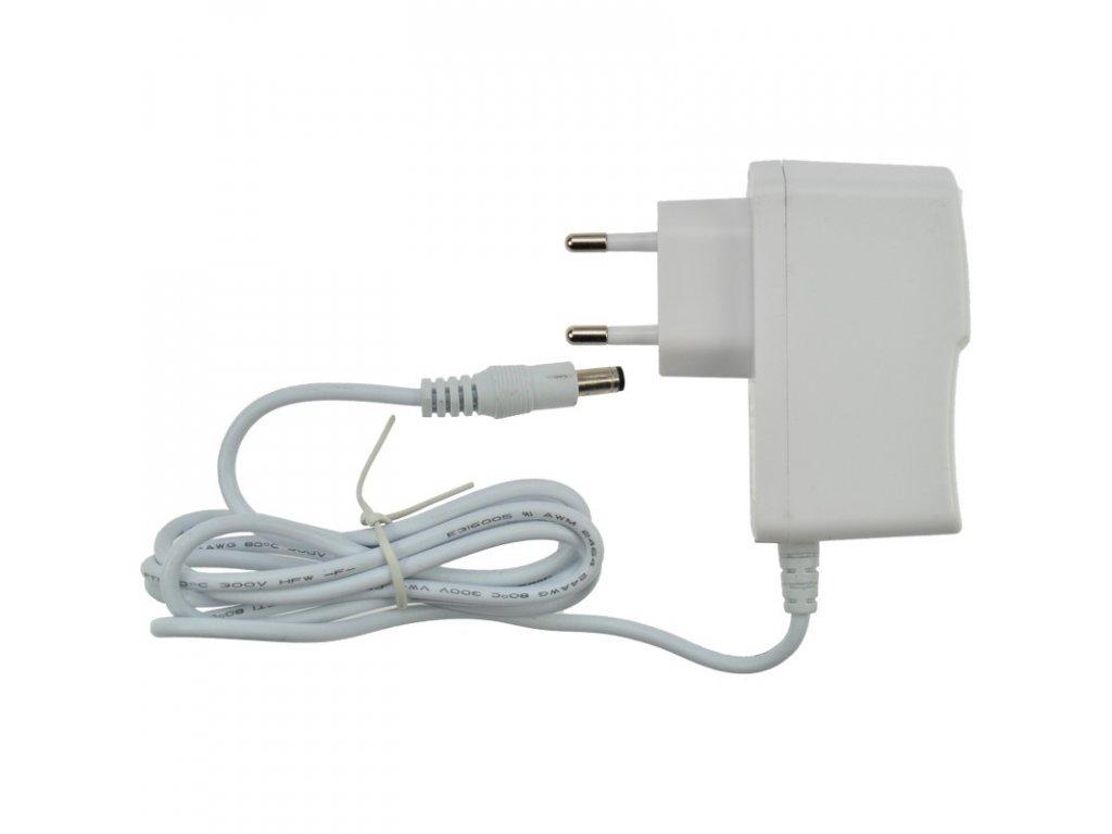 Solight síťový adaptér pro LED pásky, 230V - 12V, 1A, 12W, bílá barva