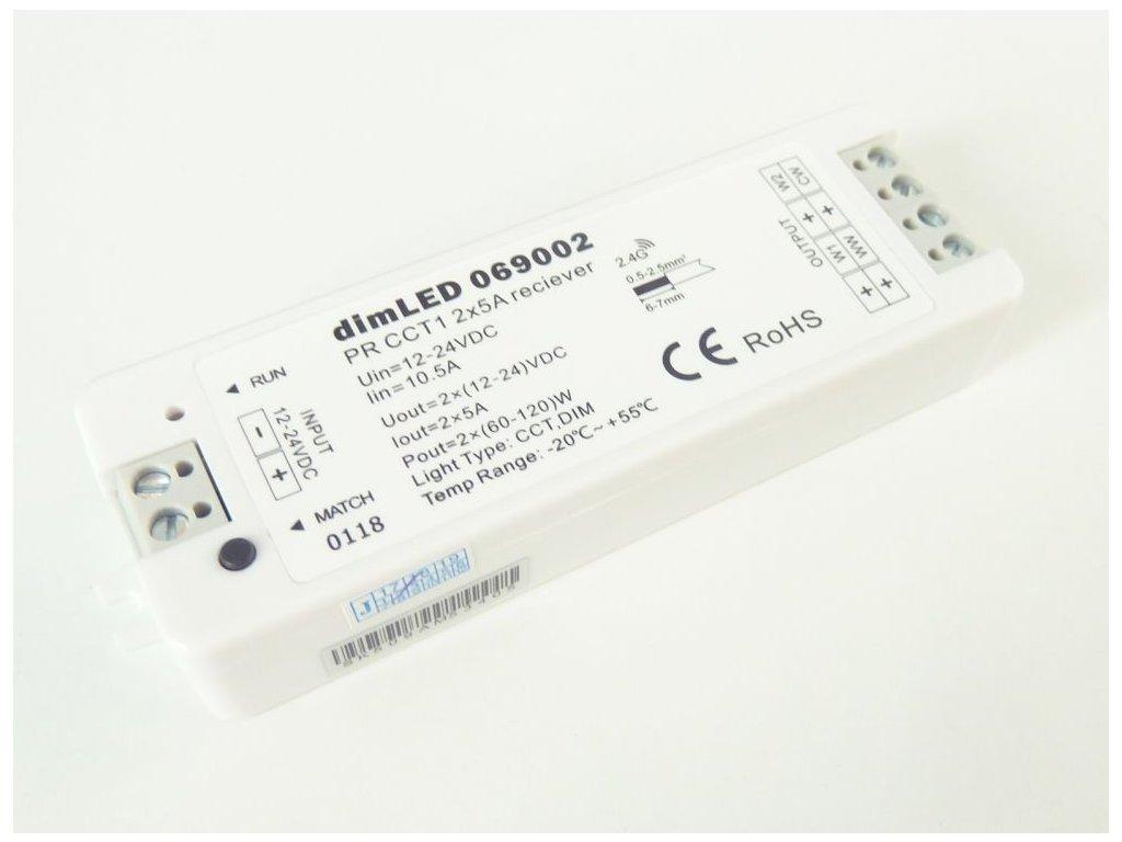 Přijímač dimLED PR CCT1 - Přijímač dimLED PR CCT1