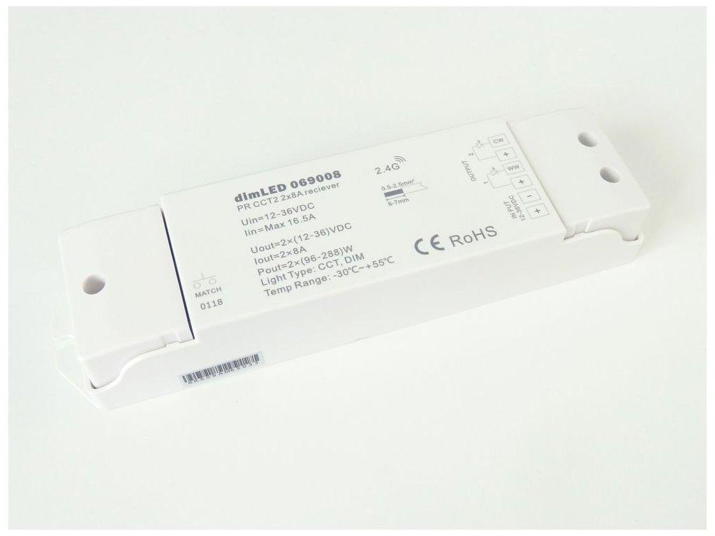 Přijímač dimLED PR CCT2 - Přijímač dimLED PR CCT2