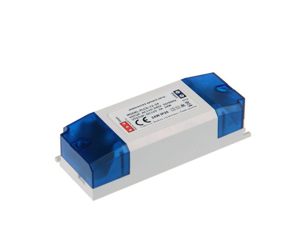 LED zdroj PLCS 12V 24W vnitřní - LED zdroj PLCS 12V 24W vnitřní