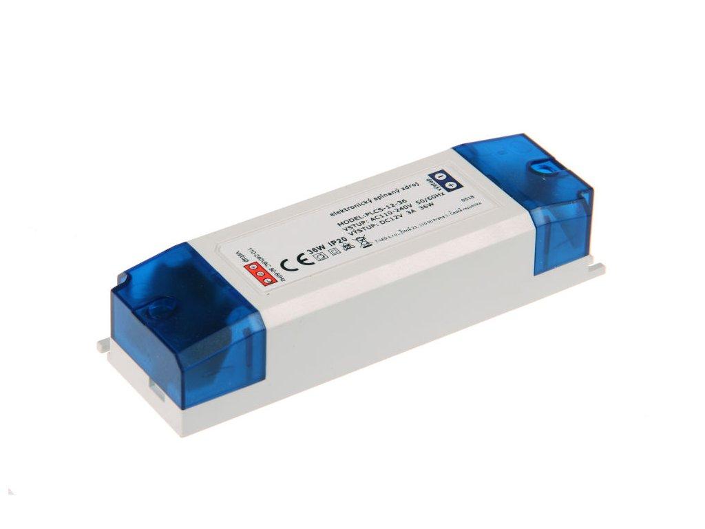 LED zdroj PLCS 12V 36W vnitřní - LED zdroj PLCS 12V 36W vnitřní